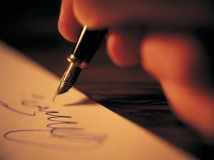 pen-on-paper