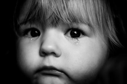 child tears