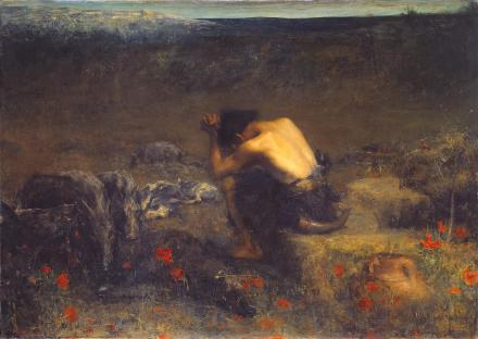 The Prodigal Son 1888 by John Macallan Swan 1847-1910